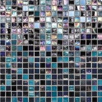 "Daltile City Lights Glass Mosaic 12"" x 12"" : Las Vegas CL691212MS1P"
