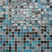 "Daltile City Lights Glass Mosaic 12"" x 12"" : Rio CL731212MS1P"