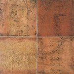 "Daltile Saltillo: Sealed Antique Red 12"" x 12"" Clay Tile ST8012121P"