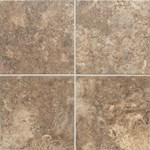 "Daltile San Michele: Moka Cross-Cut 18"" x 18"" Porcelain Tile SI3218181P6"