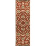 "Surya Caesar Terra Cotta (CAE-1062) Rectangle 2'6"" x 8'0"""