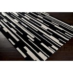 "Surya Candice Olson Modern Classics Jet Black (CAN-1998) Rectangle 8'0"" x 11'0"""