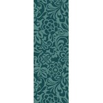 "Surya Candice Olson Modern Classics Teal Blue (CAN-2047) Rectangle 2'6"" x 8'0"""