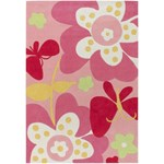 "Surya Chic Baby Pink (CHI-1007) Rectangle 4'10"" x 7'0"""