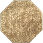 "Surya Dream Raw Umber (DST-342) Octagon 8'0"" x 8'0"""