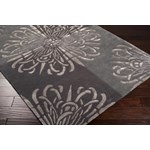 "Surya Essence Pewter (ESS-7629) Square 1'6"" x 1'6"""