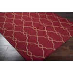 "Surya Jill Rosenwald Fallon Carmine (FAL-1013) Rectangle 8'0"" x 11'0"""