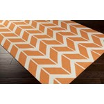 "Surya Jill Rosenwald Fallon Papaya (FAL-1081) Rectangle 8'0"" x 11'0"""