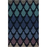 "Surya Frontier Federal Blue (FT-461) Rectangle 5'0"" x 8'0"""