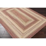 "Surya Jamestown Brick Red (JAM-4300) Rectangle 2'6"" x 9'0"""