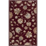 "Surya Kingston Wine (KGT-2004) Rectangle 5'0"" x 8'0"""