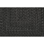 "Surya Liberty Coal Black (LIB-4400) Oval 2'6"" x 9'0"""