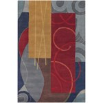 "Chandra Bense (BEN3015-79106) 7'9""x10'6"" Rectangle Area Rug"