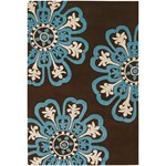 "Chandra Counterfeit (COU18201-79106) 7'9""x10'6"" Rectangle Area Rug"