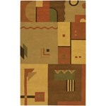 "Chandra Metro (MET509-576) 5'0""x7'6"" Rectangle Area Rug"