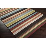 "Surya Rain Wenge (RAI-1091) Rectangle 2'0"" x 3'0"""