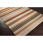 "Surya Rain Red Clay (RAI-1092) Rectangle 3'0"" x 5'0"""