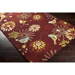 "Surya Rain Carnelian (RAI-1106) Rectangle 3'0"" x 5'0"""