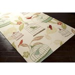 "Surya Rain Ivory (RAI-1126) Rectangle 8'0"" x 10'0"""