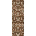 "Surya Trinidad Hot Cocoa (TND-1135) Rectangle 2'6"" x 8'0"""