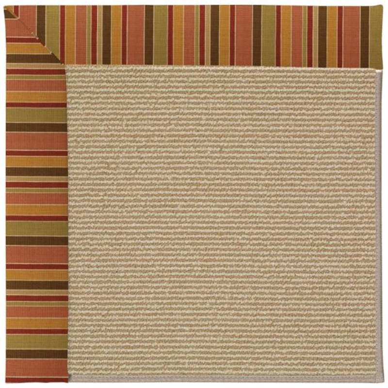 Capel Creative Concepts Sisal Tuscan Stripe Adobe 825