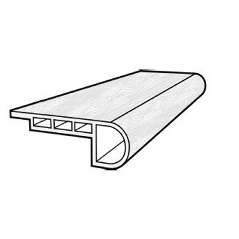 Usfloors Coretec Plus Flush Stair Nose Dakota Walnut