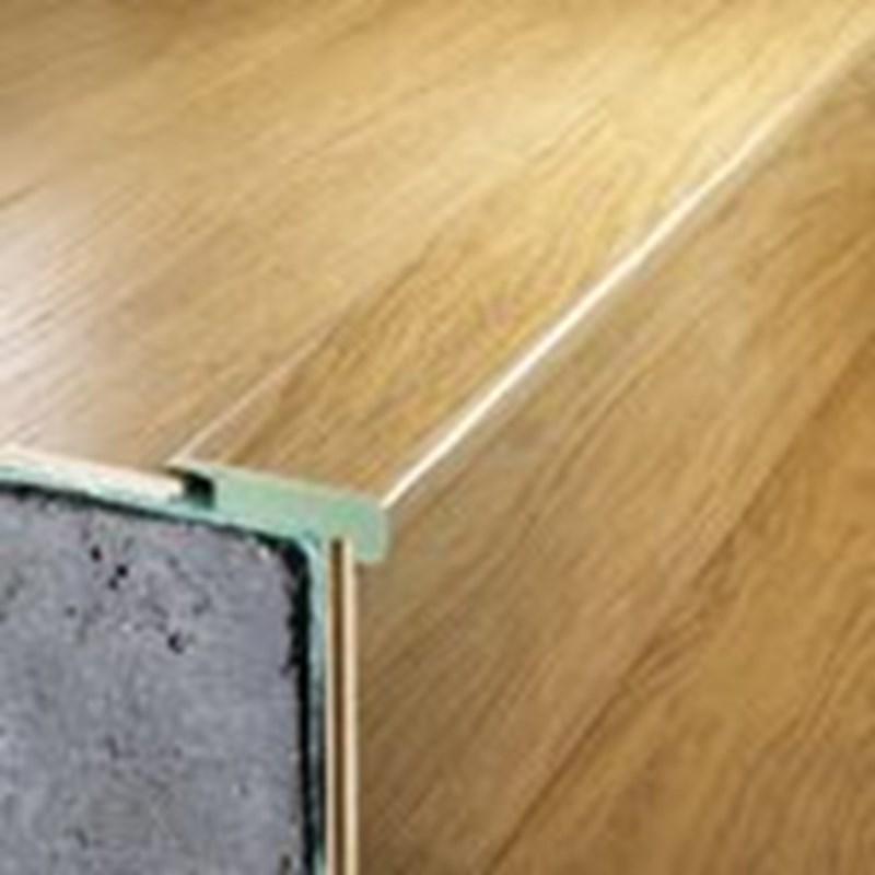 Overlap Stair Nose Brazilian Cherry, Quickstep Brazilian Cherry Laminate Flooring