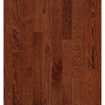 "Bruce Natural Reflections Oak: Cherry 5/16"" x 2 1/4"" Solid Oak Hardwood C5028"