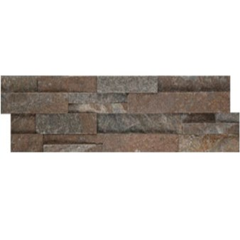 Emser Brown Quartzite Stacked Stone Ledger Panel 6 Quot X 24