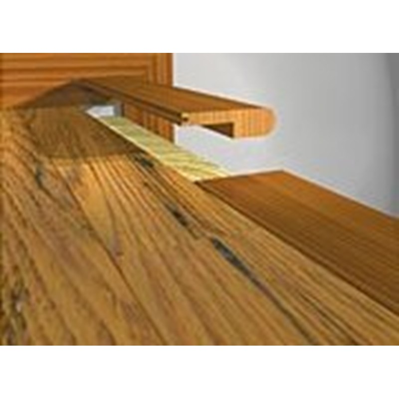 Prefinished Red Oak Stair Nose Natural 78 Quot Long