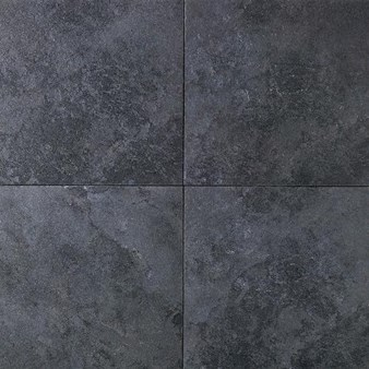 Daltile Continental Slate Asian Black 6 X 12 Porcelain Tile Cove Base