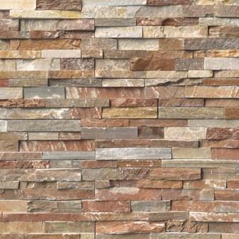 Ms International Golden White Ledger Panel 6 X 24 Natural Slate Wall Tile Lpnlqgldwhi624